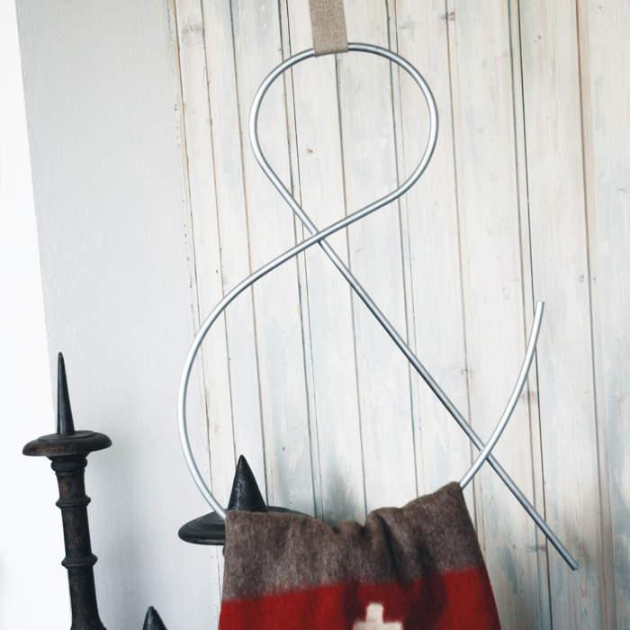 Crochets-S, métal galvanisé